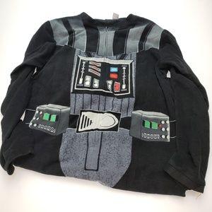 Darth Vader Men Large Pajama Costume